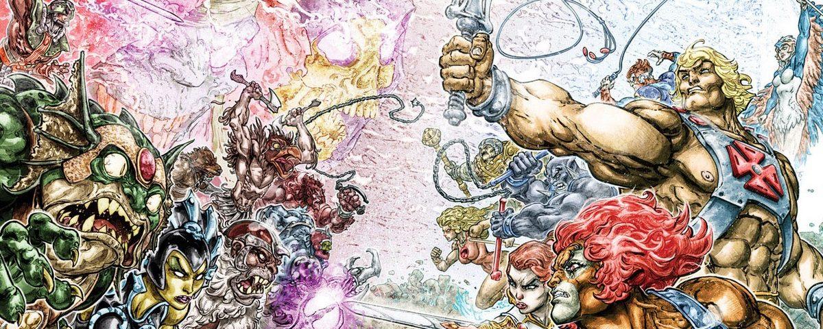 He-Man & Thundercats - DC Comics